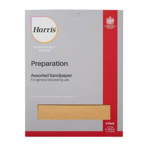 Harris Seriously Good Assorted Sandpaper