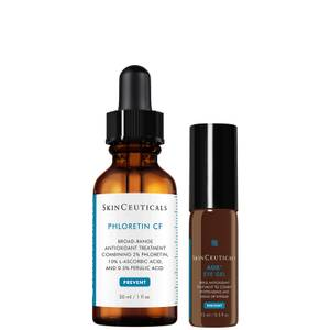 SkinCeuticals Vitamin C Face & Eye Serum for Discoloration and Dark Circles Kit