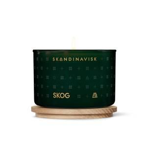 SKANDINAVISK Scented Candle - Clear Glass - Skog - 90g