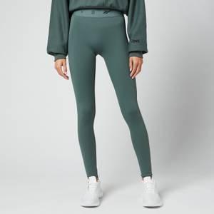 Reebok X Victoria Beckham Women's Rbk Vb Logo Leggings - Chalk Green