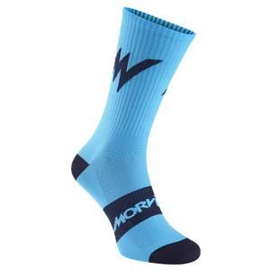 Morvelo Series Emblem Blue Socks