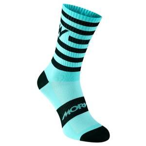 Morvelo Series Stripe Celeste Socks