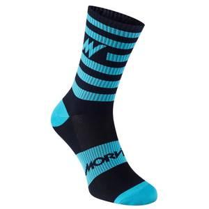 Series Stripe Navy Socks