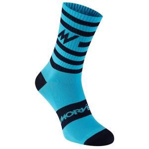 Morvelo Series Stripe Blue Socks