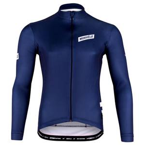 Navy Stealth Thermoactive Long Sleeve Jersey
