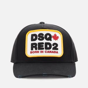 Dsquared2 Men's Born In Canada Patch Cap - Black