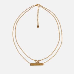 Dsquared2 Men's Double Necklace - Gold