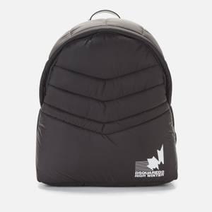 Dsquared2 Men's Padded Nylon Backpack - Black