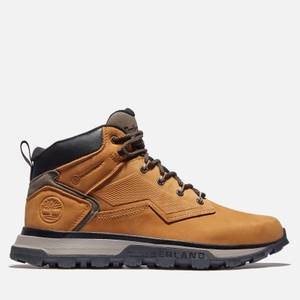 Timberland Men's Treeline Mid Waterproof Leather Hiking Boots - Wheat