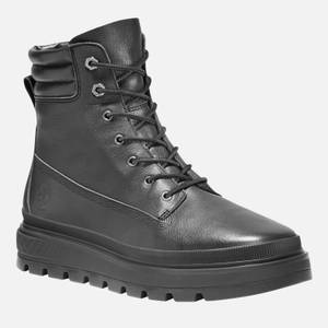 Timberland Women's Ray City 6 Inch Waterproof Leather Boots - Black
