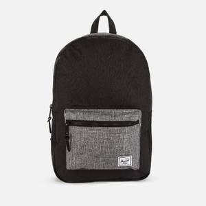 Herschel Supply Co. Men's Settlement Backpack - Black Crosshatch/Black Raven Crosshatch