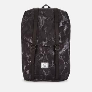 Herschel Supply Co. Men's Retreat Mid Volume Backpack - Black Marble
