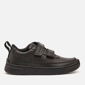 Clarks Vibrant Glow Kids' School Shoes - Black Leather