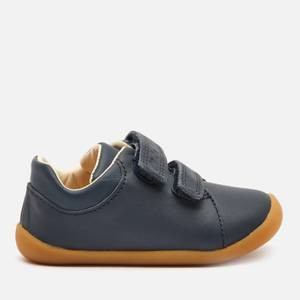 Clarks Roamer Craft Toddler Everyday Shoes - Navy Leather