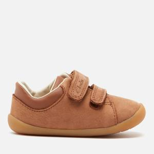 Clarks Roamer Craft Toddler Everyday Shoes - Tan Leather