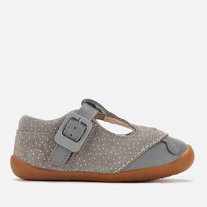 Clarks Roamer Cub Toddler Everyday Shoes - Grey Suede