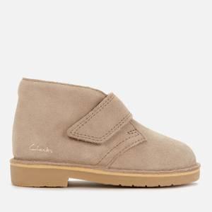 Clarks Baby Desert Boots - Sand Suede