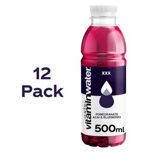 Glacéau Vitaminwater XXX Triple Berry 12 x 500ml