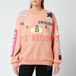 P.E Nation Women's Eastbrook Sweatshirt - Coral Mid Crom