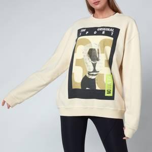 P.E Nation Women's Destroyer Sweatshirt - Ivory