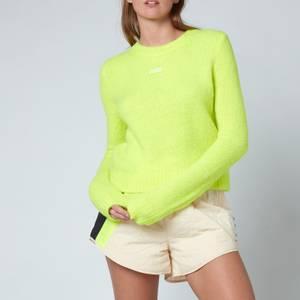 P.E Nation Women's Stability Knit Sweatshirt - Yellow Bright Yelb