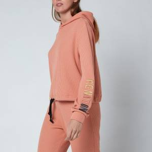 P.E Nation Women's Rebound Hoodie - Coral Mid Crom