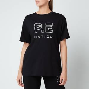 P.E Nation Women's Heads Up T-Shirt - Black Blk