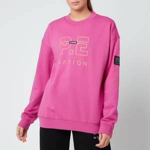 P.E Nation Women's Heads Up Sweatshirt - Pink Dark Pind