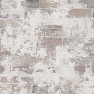 Organic Textures Brick Beige Wallpaper Sample