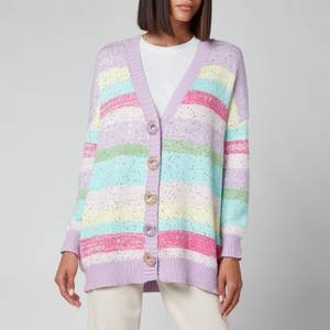 Olivia Rubin Women's Mika Sequin Stripe Cardigan - Mix Stripe