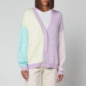 Olivia Rubin Women's Cecily Colourblock Cardigan - Sequin Knit