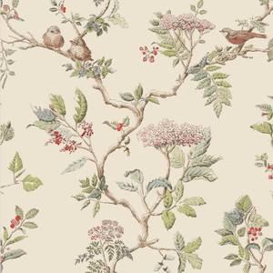 Laura Ashley Elderwood Natural Wallpaper