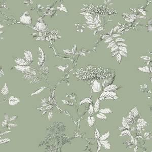 Laura Ashley Elderwood Sage Wallpaper
