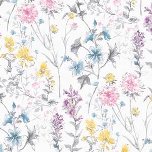 Laura Ashley Wild Meadow Pink Wallpaper