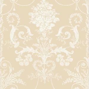 Laura Ashley Josette Linen Wallpaper