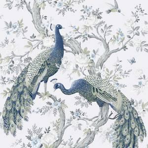 Laura Ashley Belvedere Midnight Wallpaper