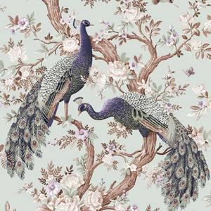 Laura Ashley Belvedere Duck Egg Wallpaper