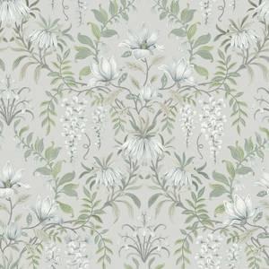 Laura Ashley Parterre Sage Wallpaper
