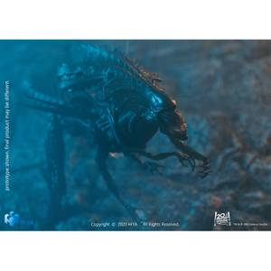 HIYA Toys Aliens Mnifigura a escala 1:18 reina alien daños batalla