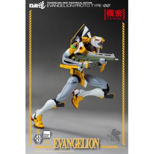 ThreeZero Evangelion: New Theatrical Edition ROBO-DOU Collectible Figure - Proto Type-00