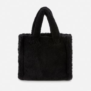 Stand Studio Women's Lolita Faux Fur Teddy 2020 - Black