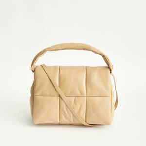 Stand Studio Women's Wanda Faux Leather Clutch Bag - Sand