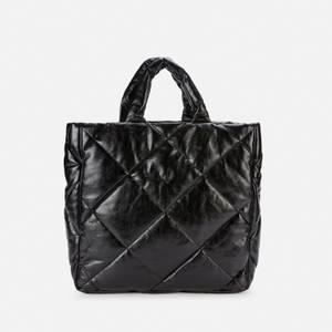 Stand Studio Women's Assante Diamond Faux Leather Bag - Black