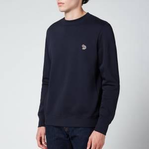 PS Paul Smith Men's Regular Fit Zebra Badge Sweatshirt - Dark Navy