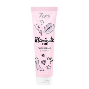 7DAYS Illuminate Me Rose Girl Body Milk
