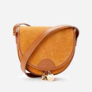 See by Chloé Women's Mara Small Saddle Bag - Caramello