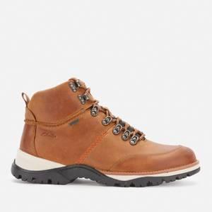 Clarks Men's Topton Pine Goretex Hiking Style Boots - Cognac