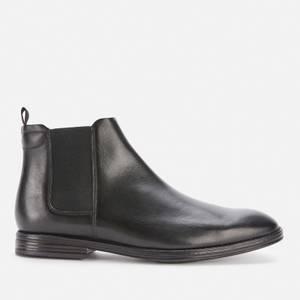 Clarks Men's Citi Stride Leather Chelsea Boots - Black