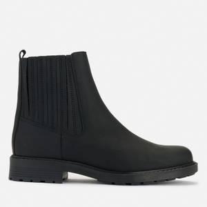 Clarks Women's Orinoco 2 Mid Leather Chelsea Boots - Black