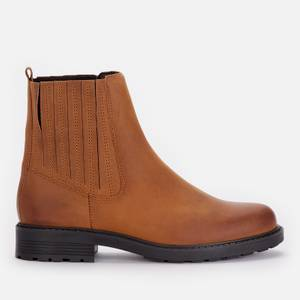 Clarks Women's Orinoco 2 Mid Leather Chelsea Boots - Brown Snuff